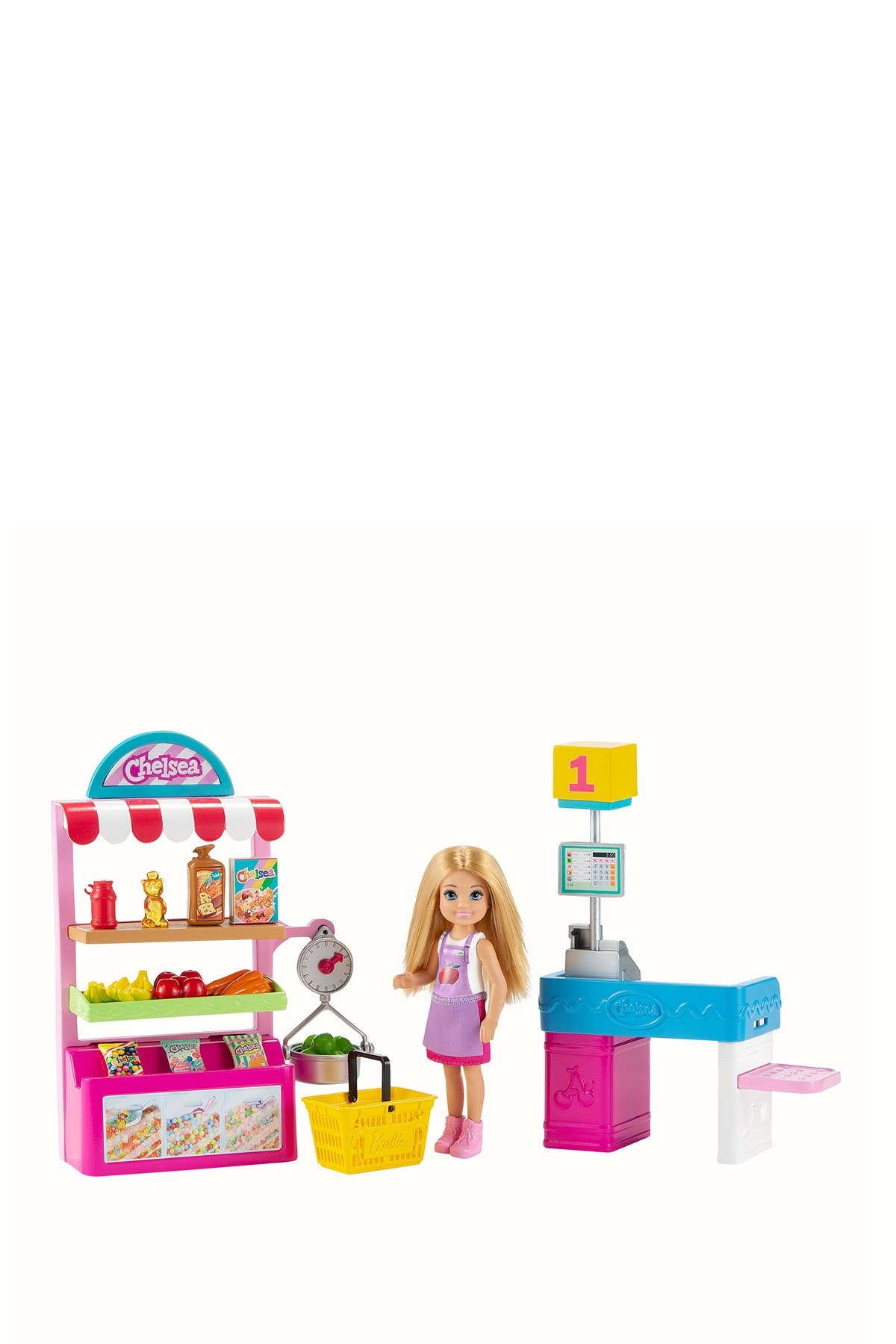 Image of Mattel Barbie® Chelsea® Can Be Snack Stand Playset with Blonde Chelsea® Doll