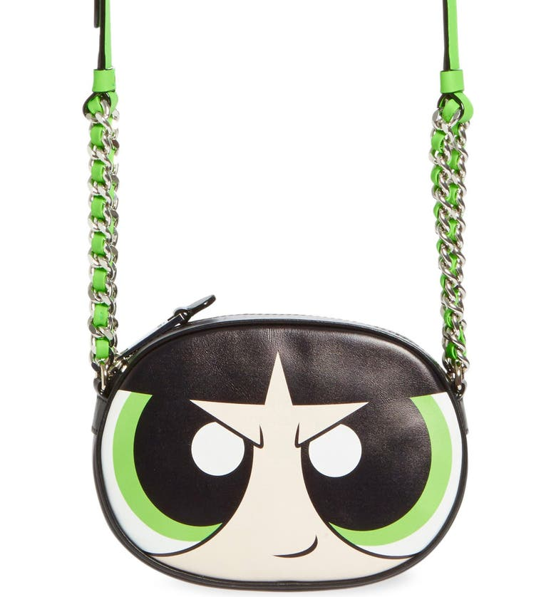 a822bf76f1 Moschino 'The Powerpuff Girls® - Buttercup' Canteen Crossbody Bag ...