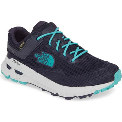 The North Face Safien Gore-Tex Waterproof Hiking Sneaker- Blue