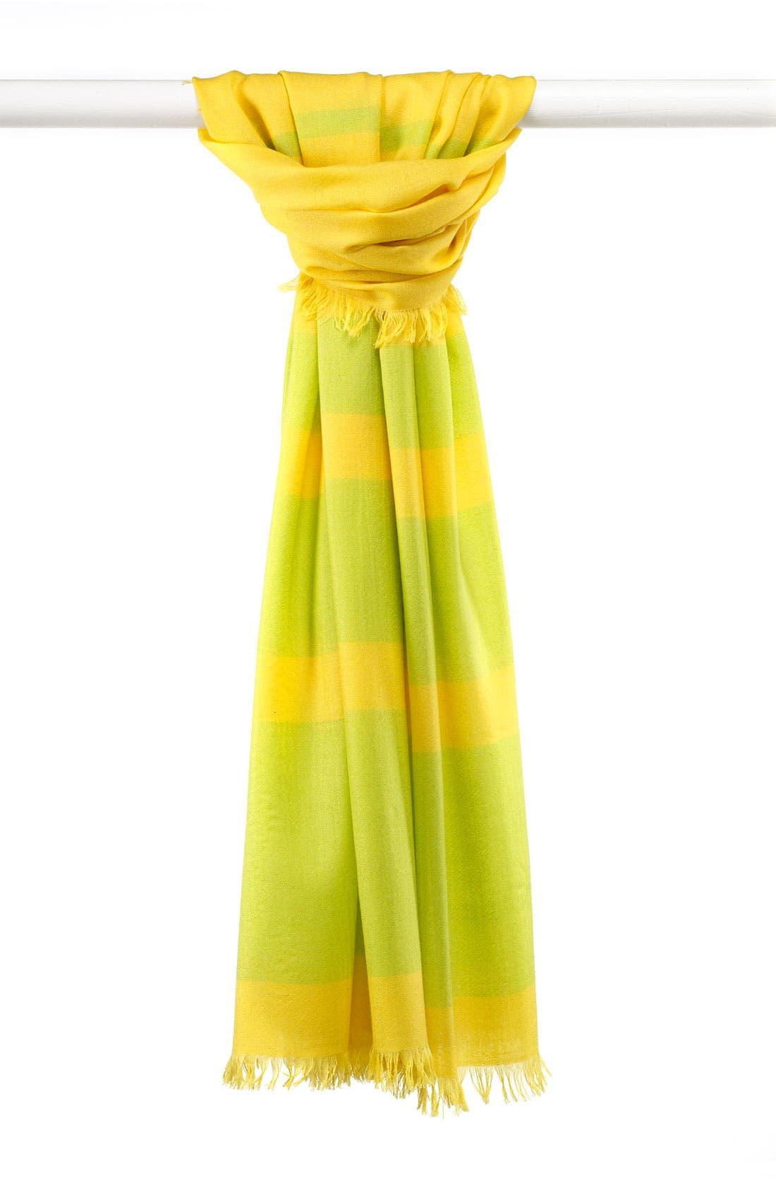 ,                             'Eyelash' Colorblock Cashmere Wrap,                             Main thumbnail 102, color,                             706