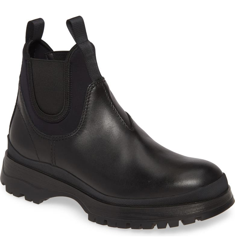 PRADA Novo Chelsea Boot, Main, color, NERO