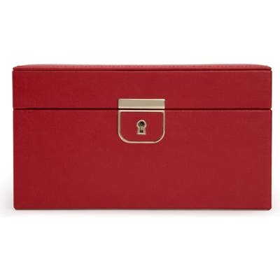 Wolf Palermo Small Jewelry Box - Red