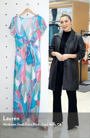 Lanna Silk Chiffon Cover-Up, sales video thumbnail