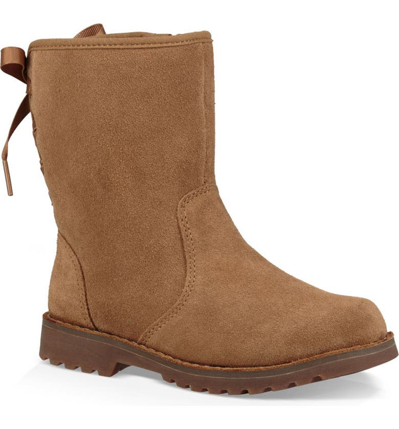 UGG<SUP>®</SUP> 'Corene' Suede Boot, Main, color, CHESTNUT BROWN