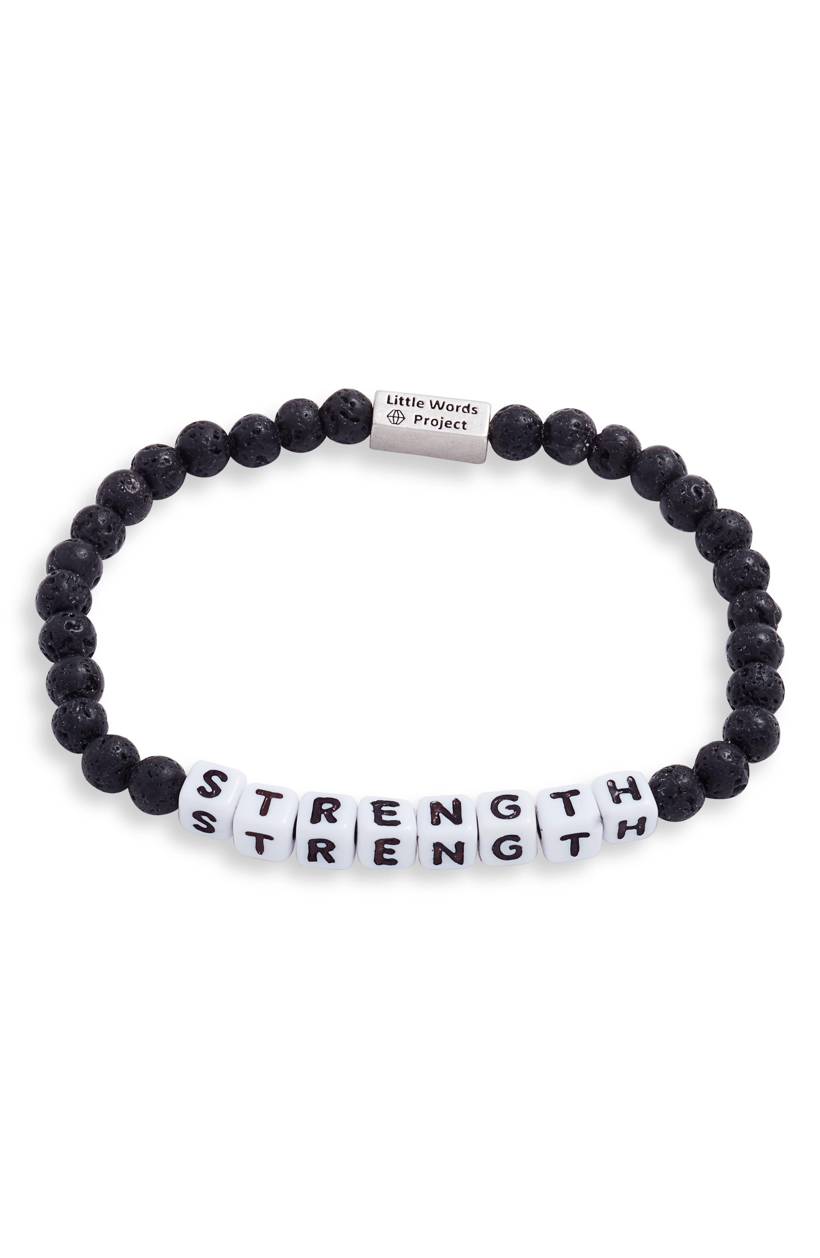 Strength Beaded Bracelet