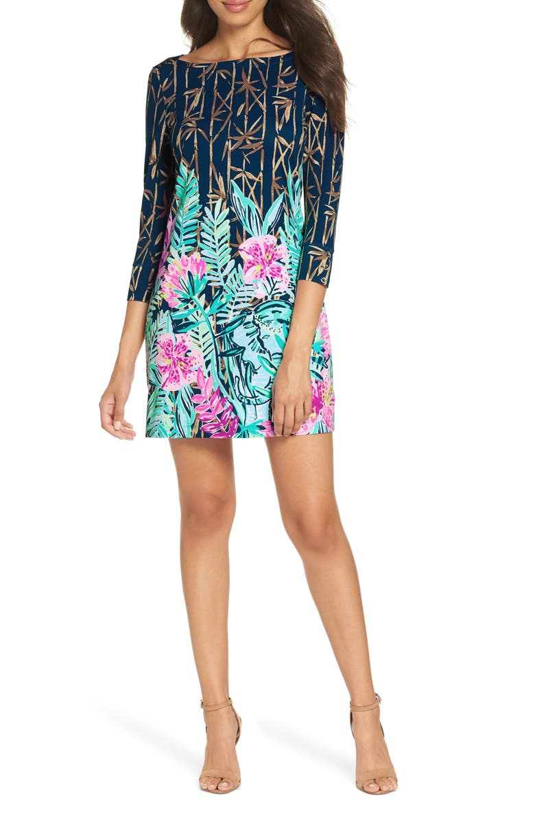 LILLY PULITZER<SUP>®</SUP> Sophie UPF 50+ Shift Dress, Main, color, 400