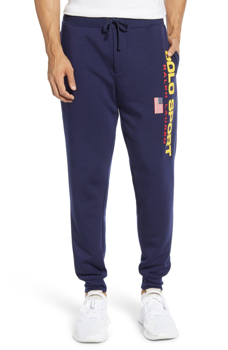 POLO RALPH LAUREN Polo Sport Sweatpants, Main, color, CRUISE NAVY