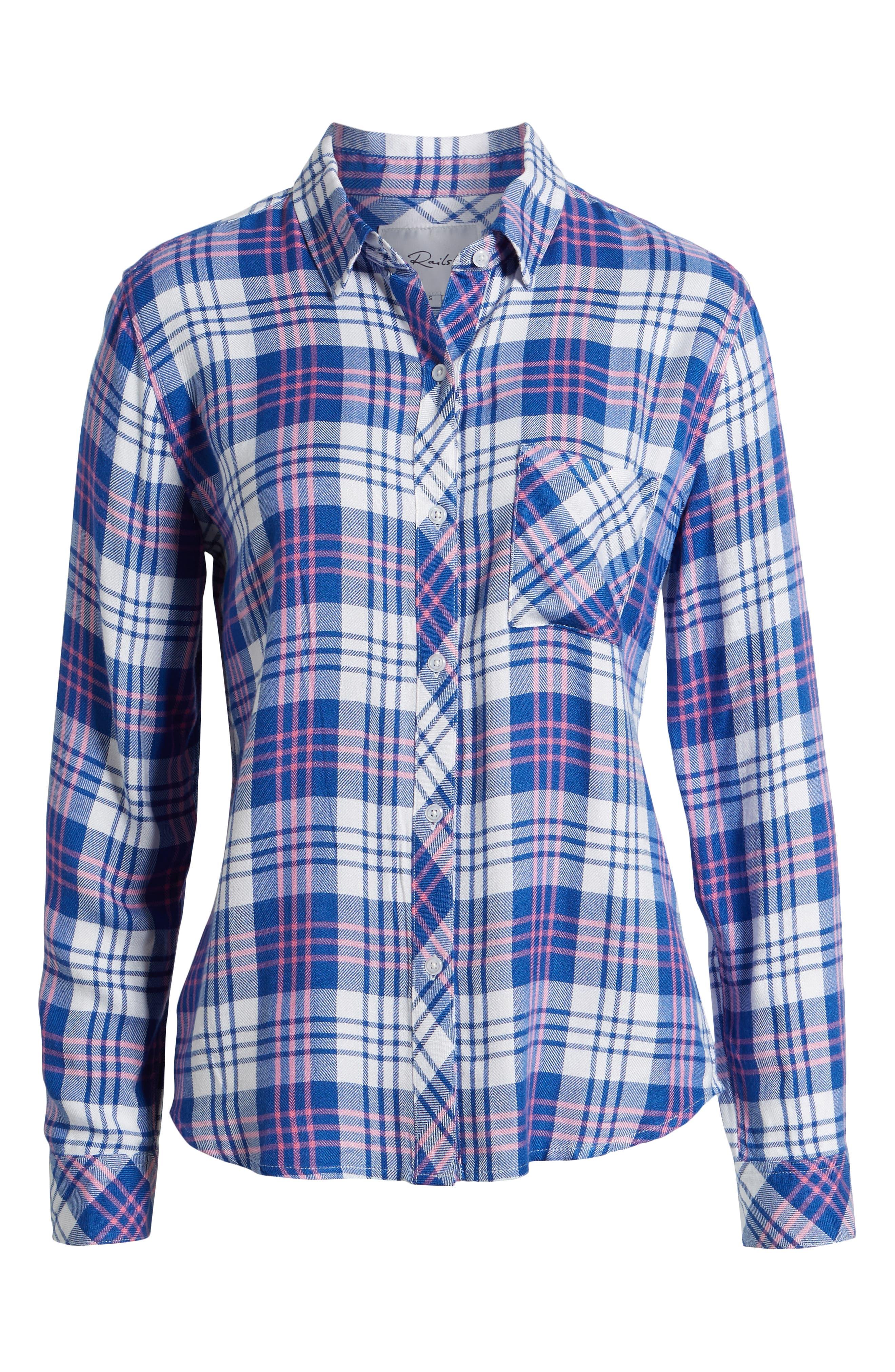 ,                             Hunter Plaid Shirt,                             Alternate thumbnail 125, color,                             425