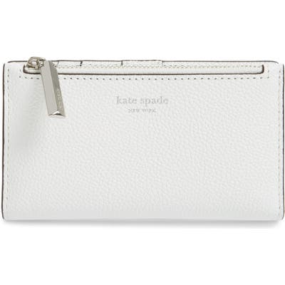 Kate Spade New York Margaux Slim Bifold Wallet - White