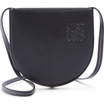 Loewe Mini Heel Leather Bag - Black