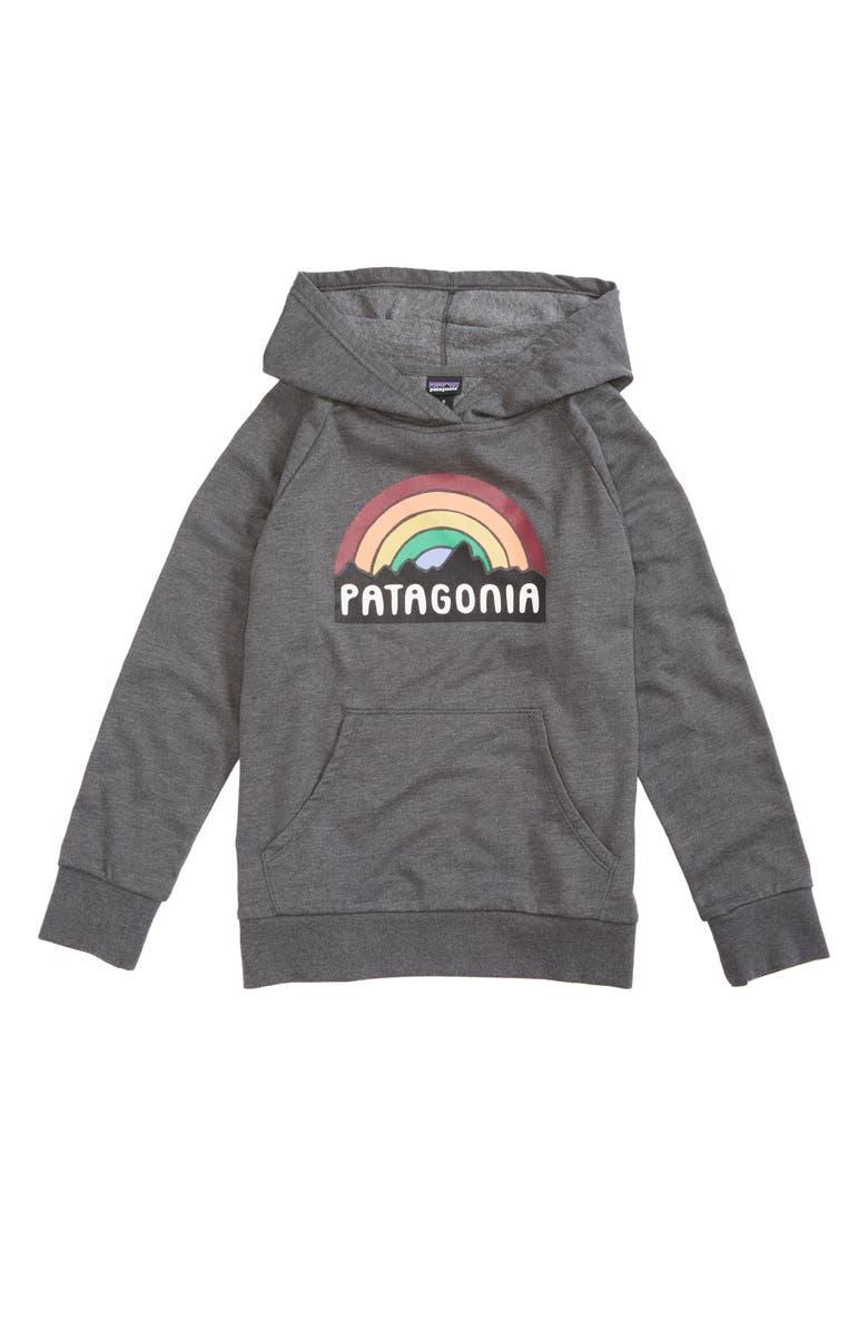 PATAGONIA Fitz Roy Rainbow Hoodie, Main, color, 020