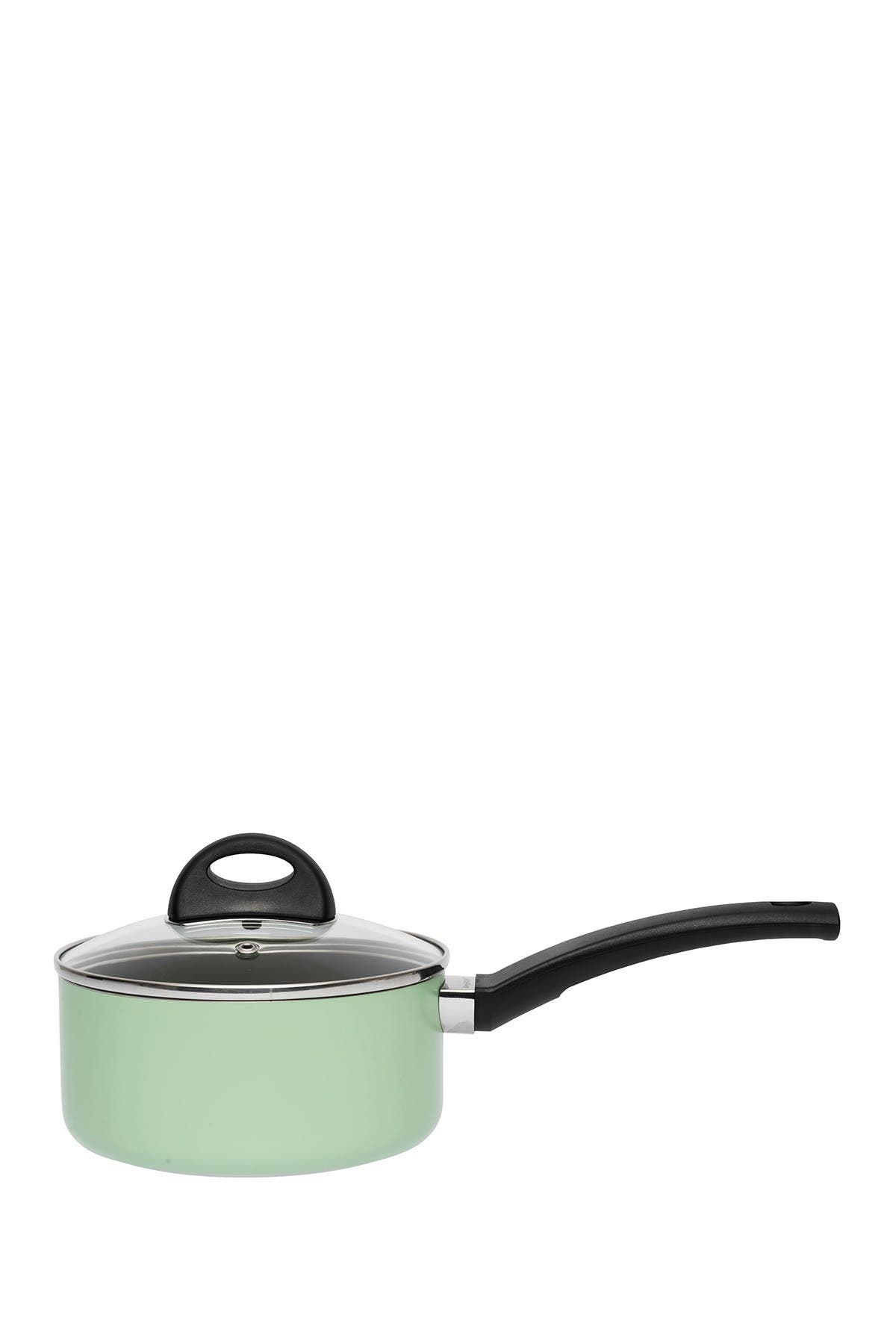 Image of BergHOFF Green 1.6 Quart Covered Sauce Pan