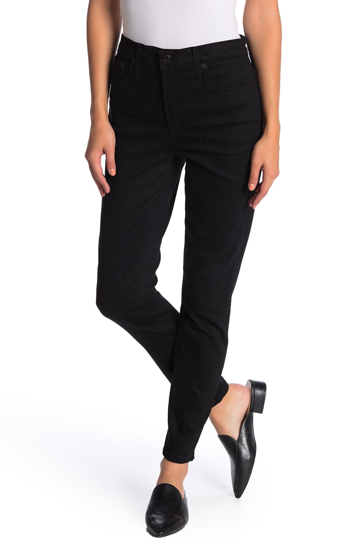 Image of J. Crew High Rise Toothpick Skinny Jeans