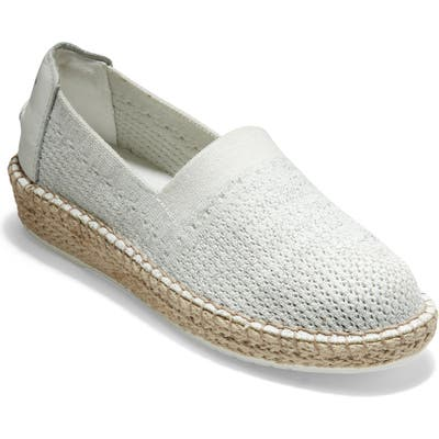 Cole Haan Cloudfeel Stitchlite Espadrille B - White