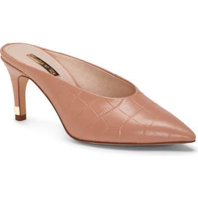Louise Et Cie Karas Pointy Toe Mule Pump- Pink