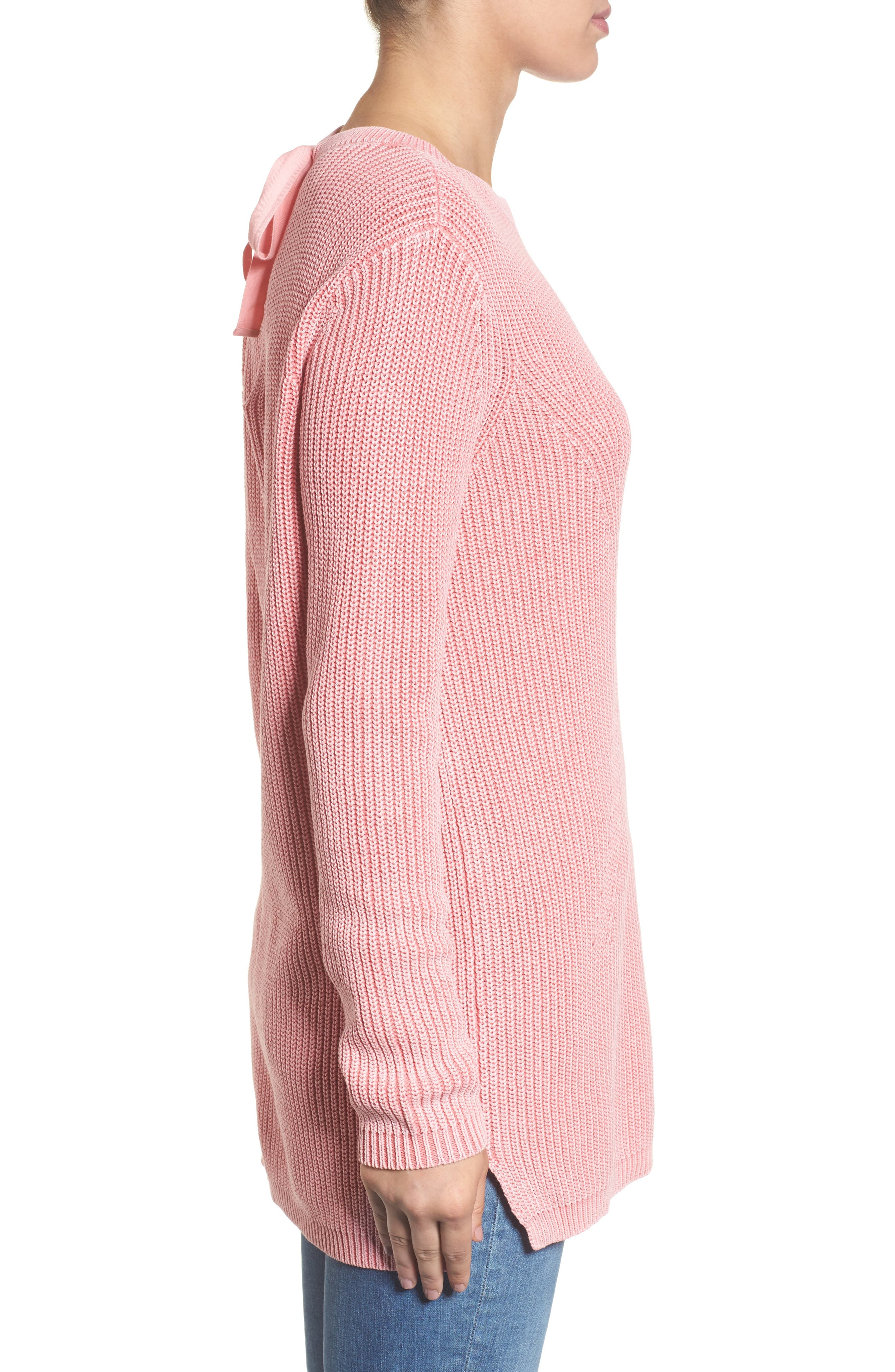,                             Tie Back Tunic Sweater,                             Alternate thumbnail 57, color,                             680