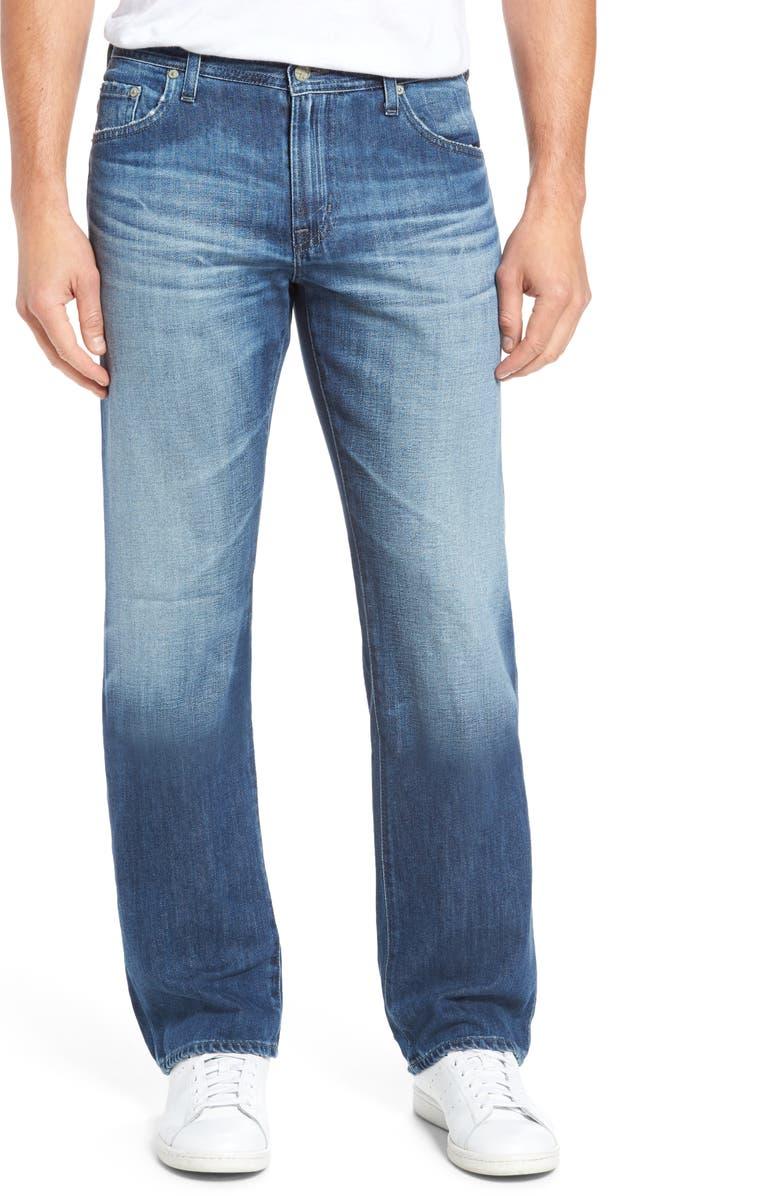AG Protégé Relaxed Fit Jeans, Main, color, 472