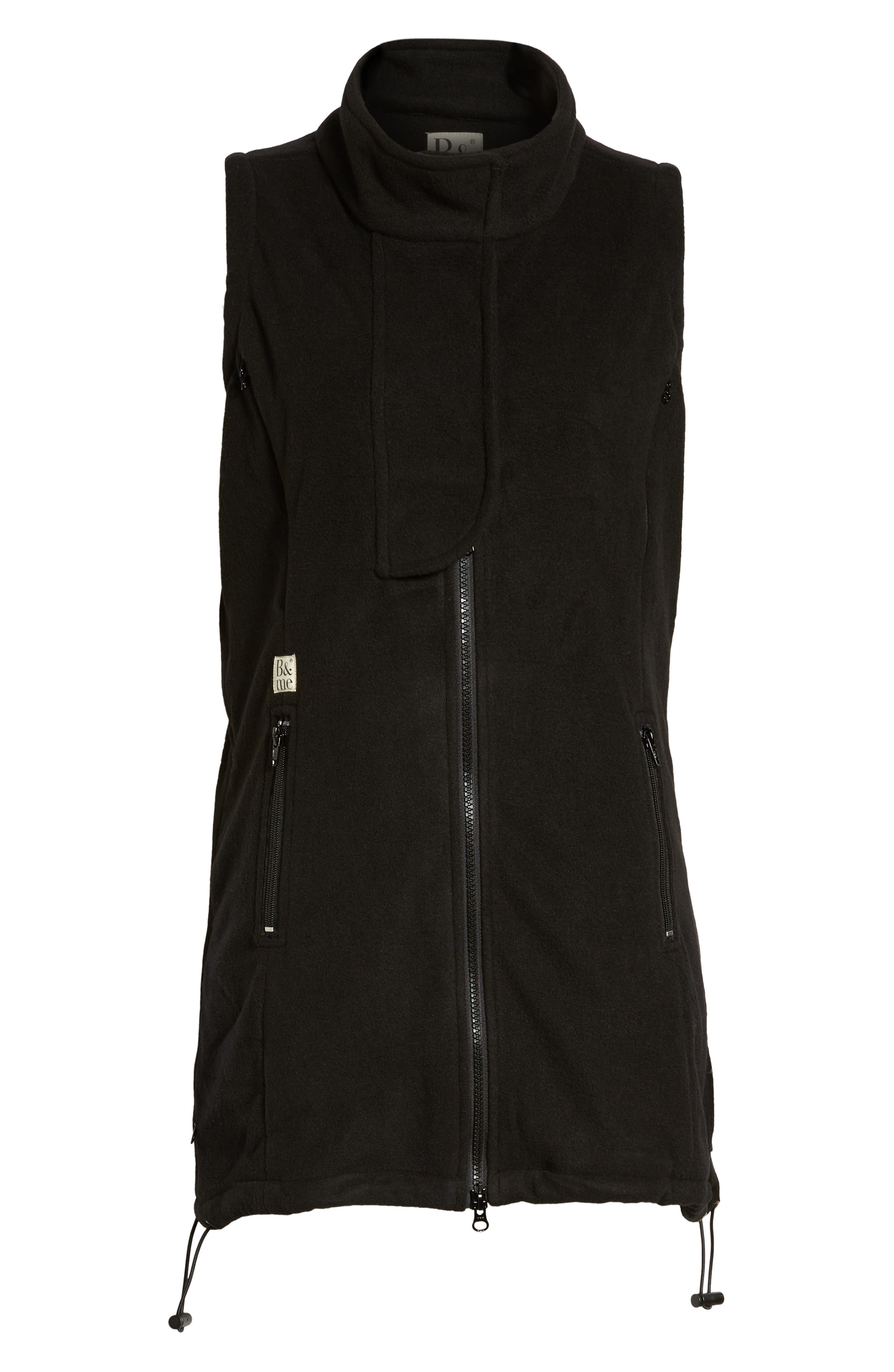 ,                             Booker Maternity Vest,                             Alternate thumbnail 6, color,                             BLACK