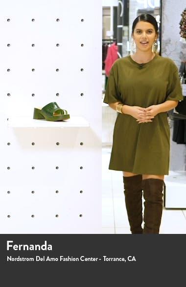 Toe Strap Slide Sandal, sales video thumbnail