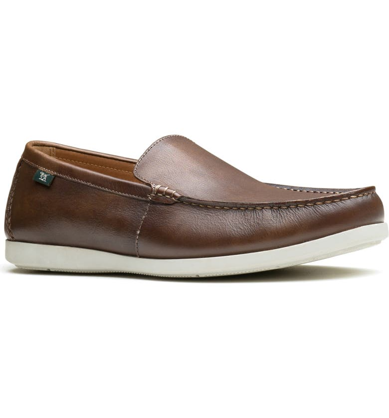 RODD & GUNN Woodside Bay Loafer, Main, color, CHOCOLATE LEATHER