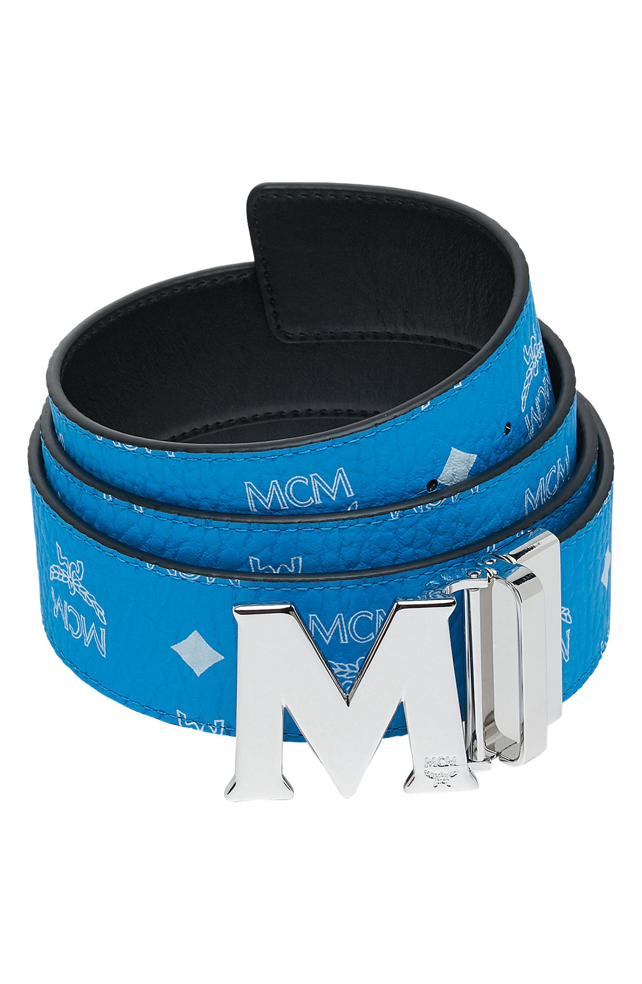 ,                             Visetos Reversible BeltMCM Visetos Reversible Belt,                             Main thumbnail 1, color,                             443