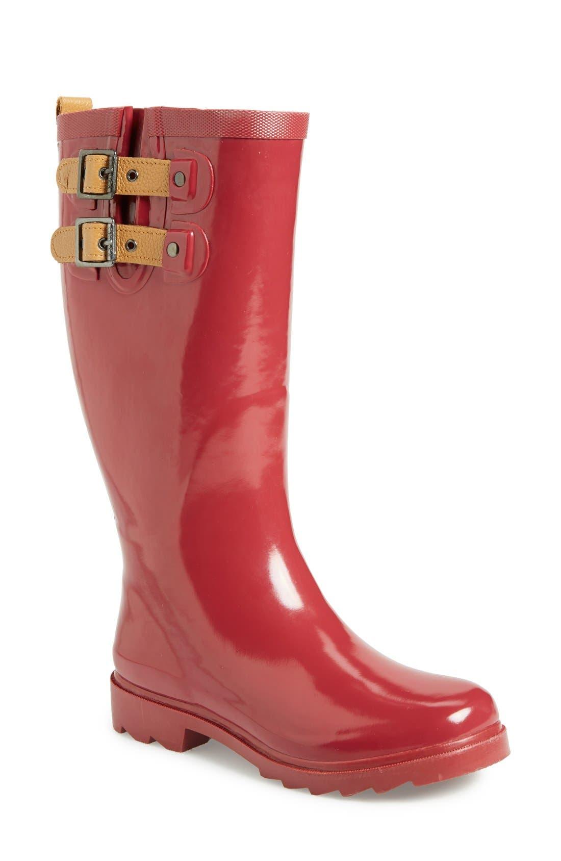 ,                             'Top Solid' Rain Boot,                             Main thumbnail 117, color,                             602
