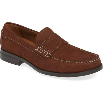 Johnston & Murphy Chadwell Penny Loafer- Brown