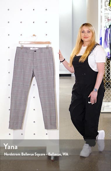 Check Crop Stretch Dress Pants, sales video thumbnail