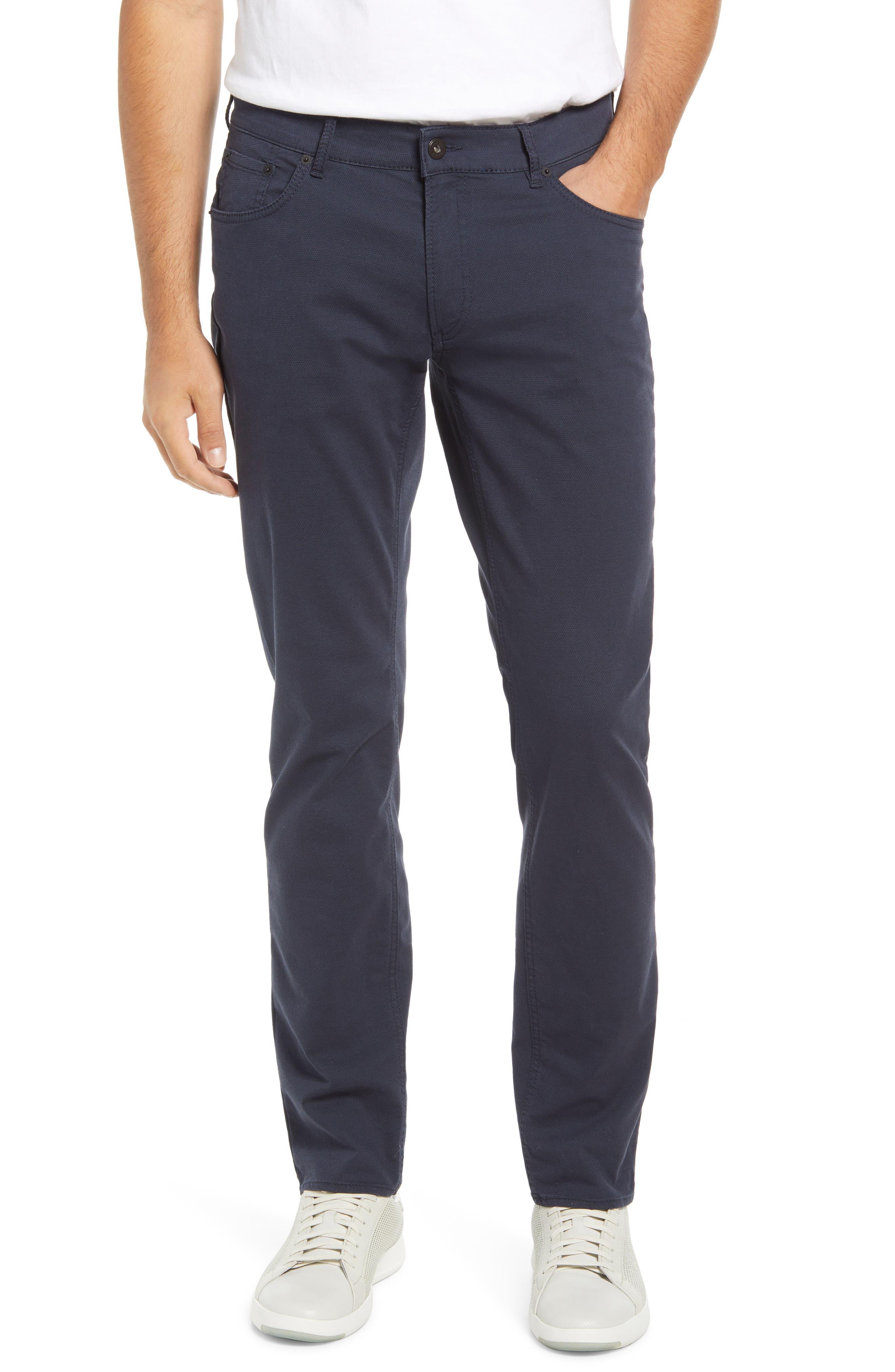 Chuck Slim Fit Diamond Weave Five-Pocket Pants