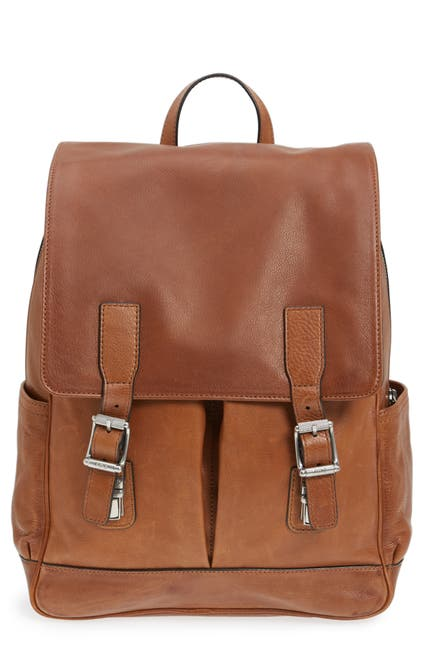 Image of Frye Oliver Leather Backpack