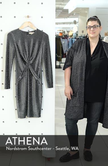 Twist Front Sheath Dress, sales video thumbnail