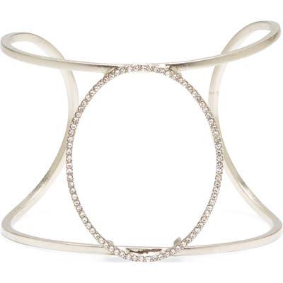 Sole Society Pave Large Cuff Bracelet