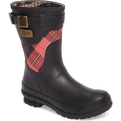 Pendleton Heritage Cunningham Tartan Short Boot, Red