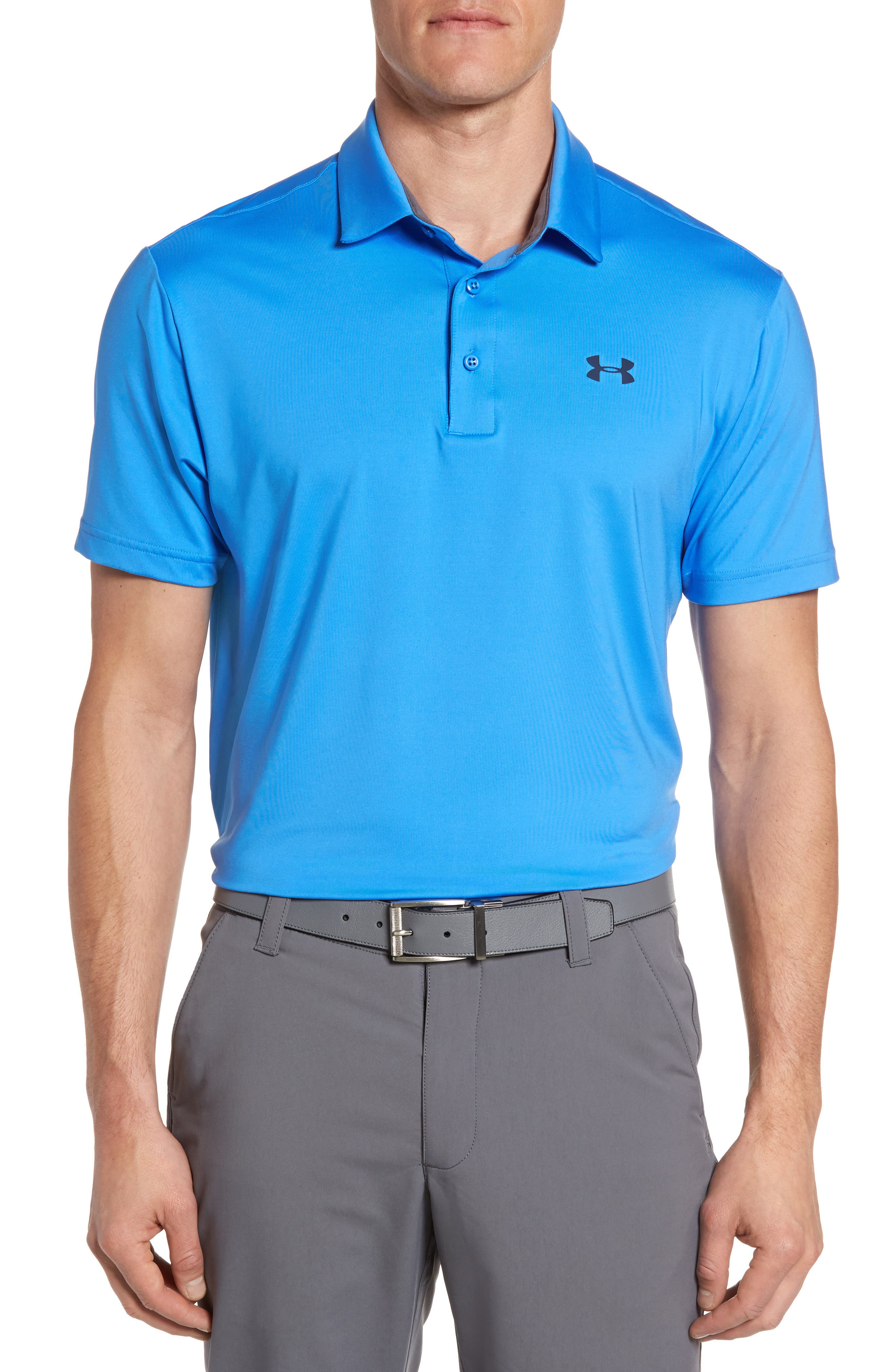 ,                             'Playoff' Loose Fit Short Sleeve Polo,                             Main thumbnail 303, color,                             466