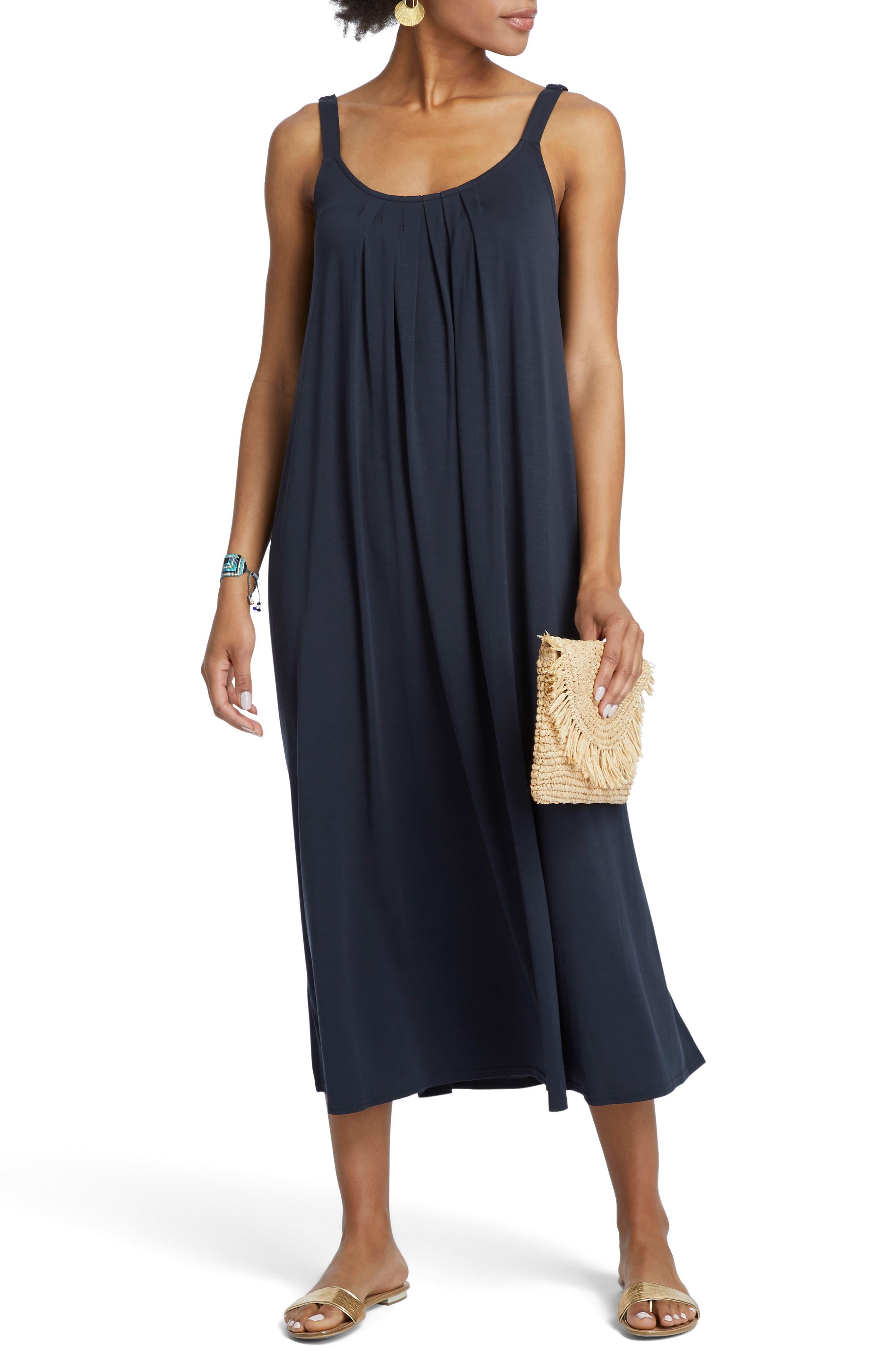 Nic+Zoe Boardwalk Shift Dress, Blue