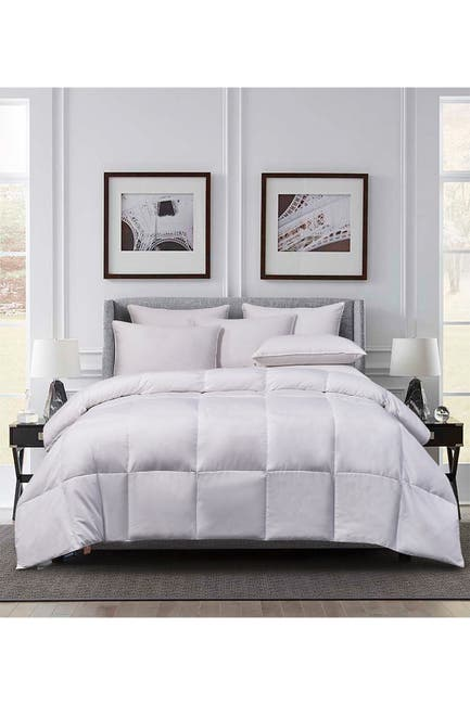 Image of Blue Ridge Home Fashions Cannon Microfiber All Season Goose Feather & Down Fiber Comforter - King - White