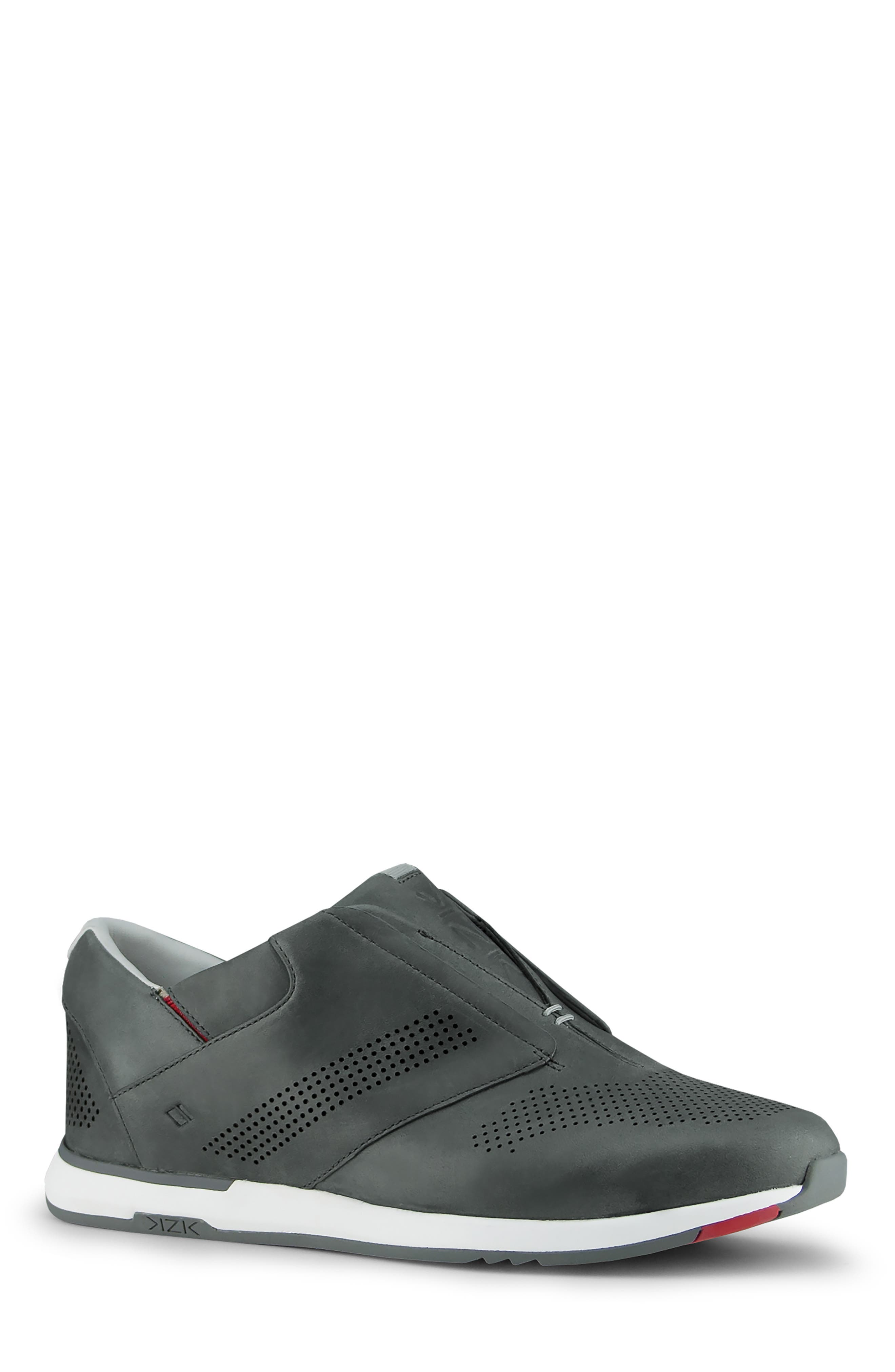 Kizik Dubai Slip-On Sneaker, Grey