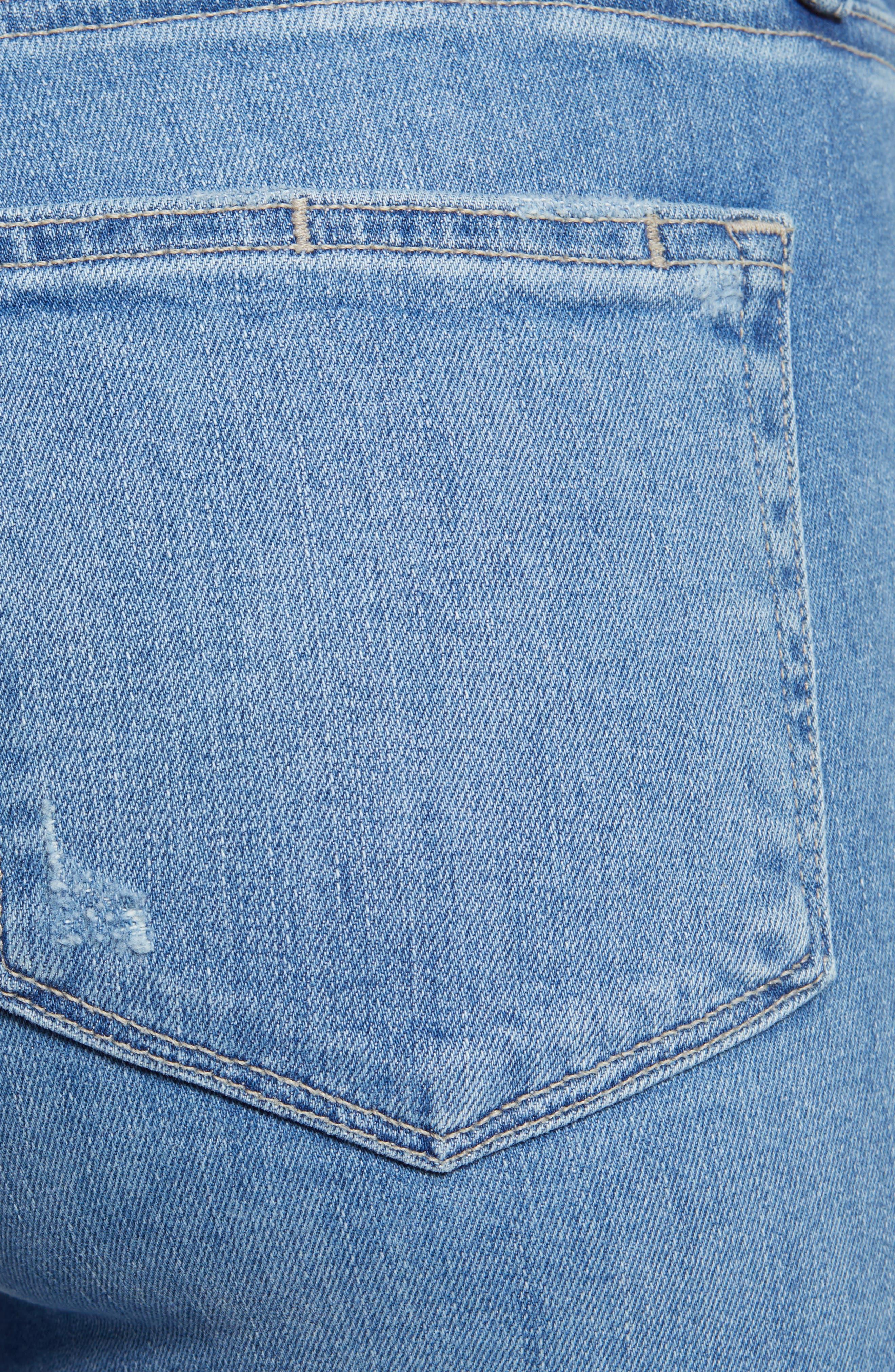 ,                             Transcend Vintage - Hoxton High Waist Ankle Skinny Jeans,                             Alternate thumbnail 6, color,                             400