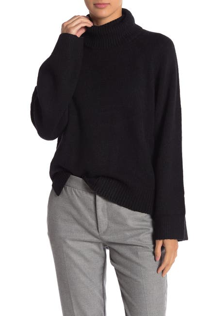 Image of Free Press High/Low Turtleneck Sweater