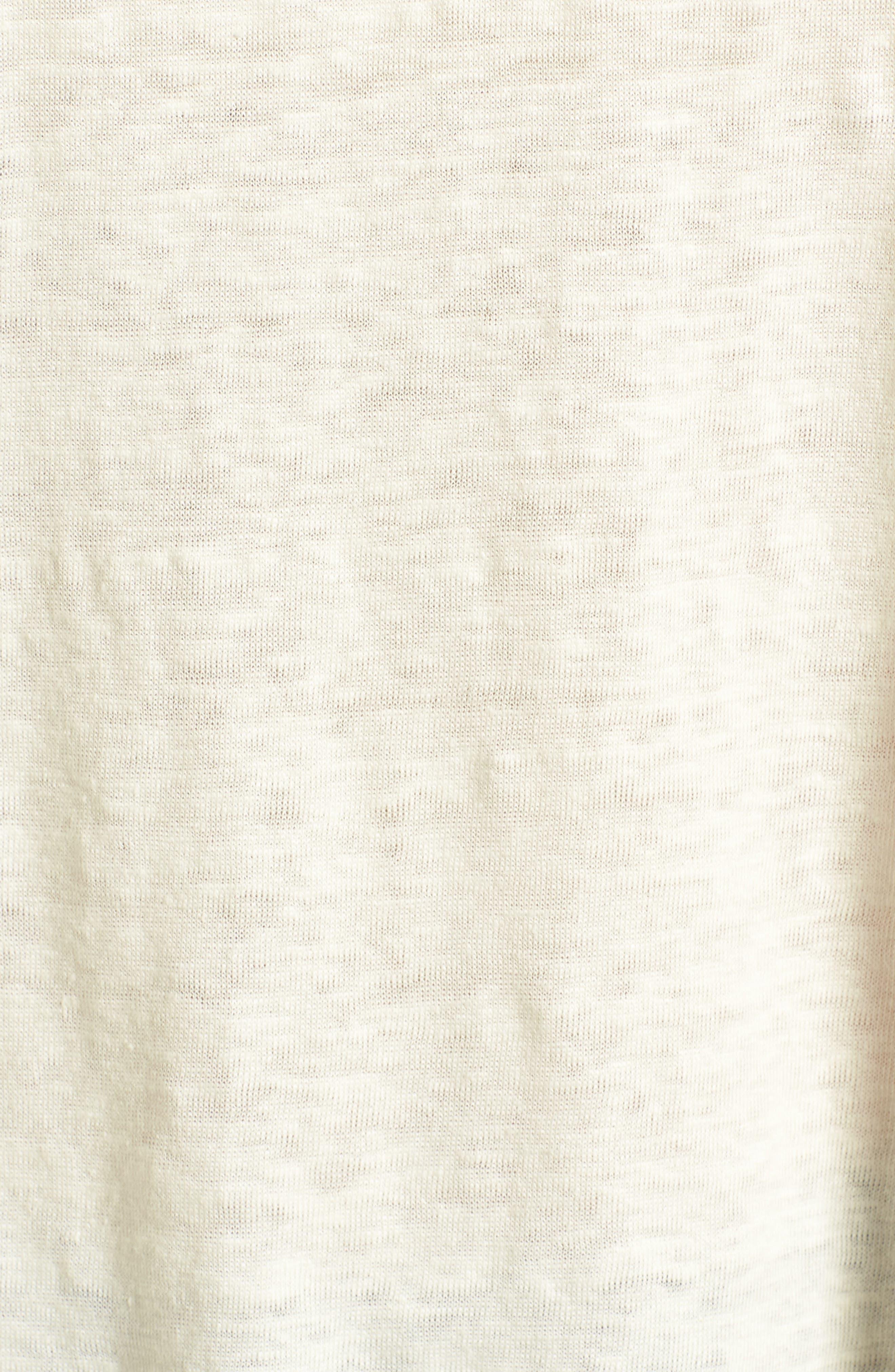 ,                             Modern Linen Gather Top,                             Alternate thumbnail 21, color,                             901