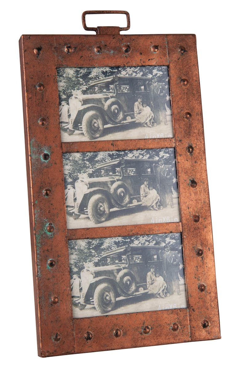 FORESIDE Aviator Triple Picture Frame, Main, color, 220