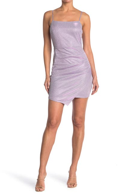 Image of Love, Nickie Lew Sparkly Ruched Side Mini Dress