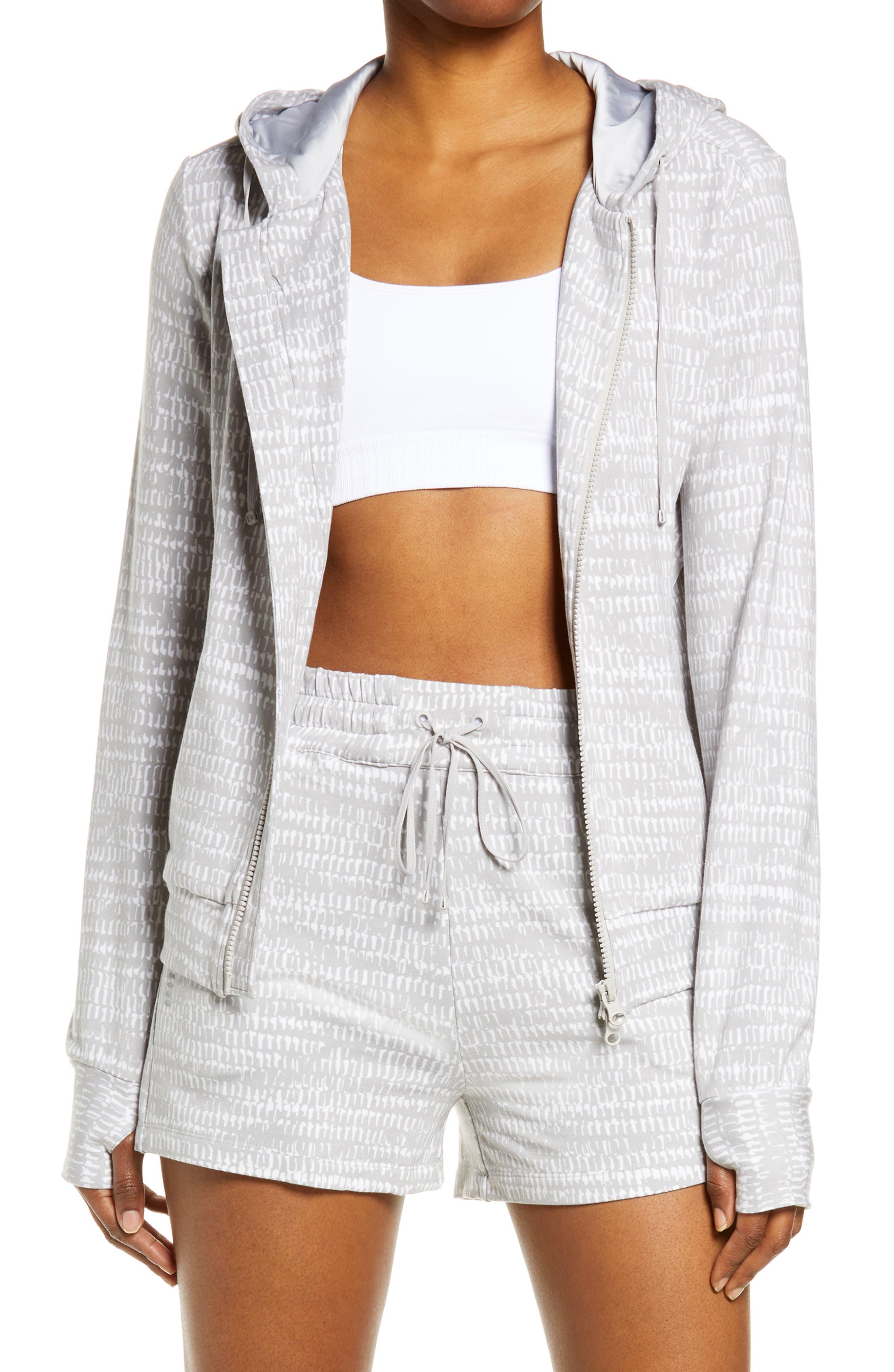 Luxe Fleece Zip Front Hoodie