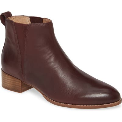 Madewell The Carina Bootie, Burgundy