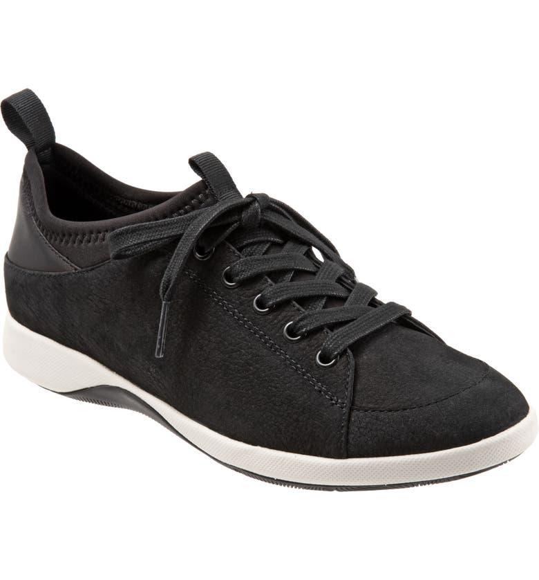 SOFTWALK<SUP>®</SUP> SAVA Haven Sneaker, Main, color, BLACK NUBUCK