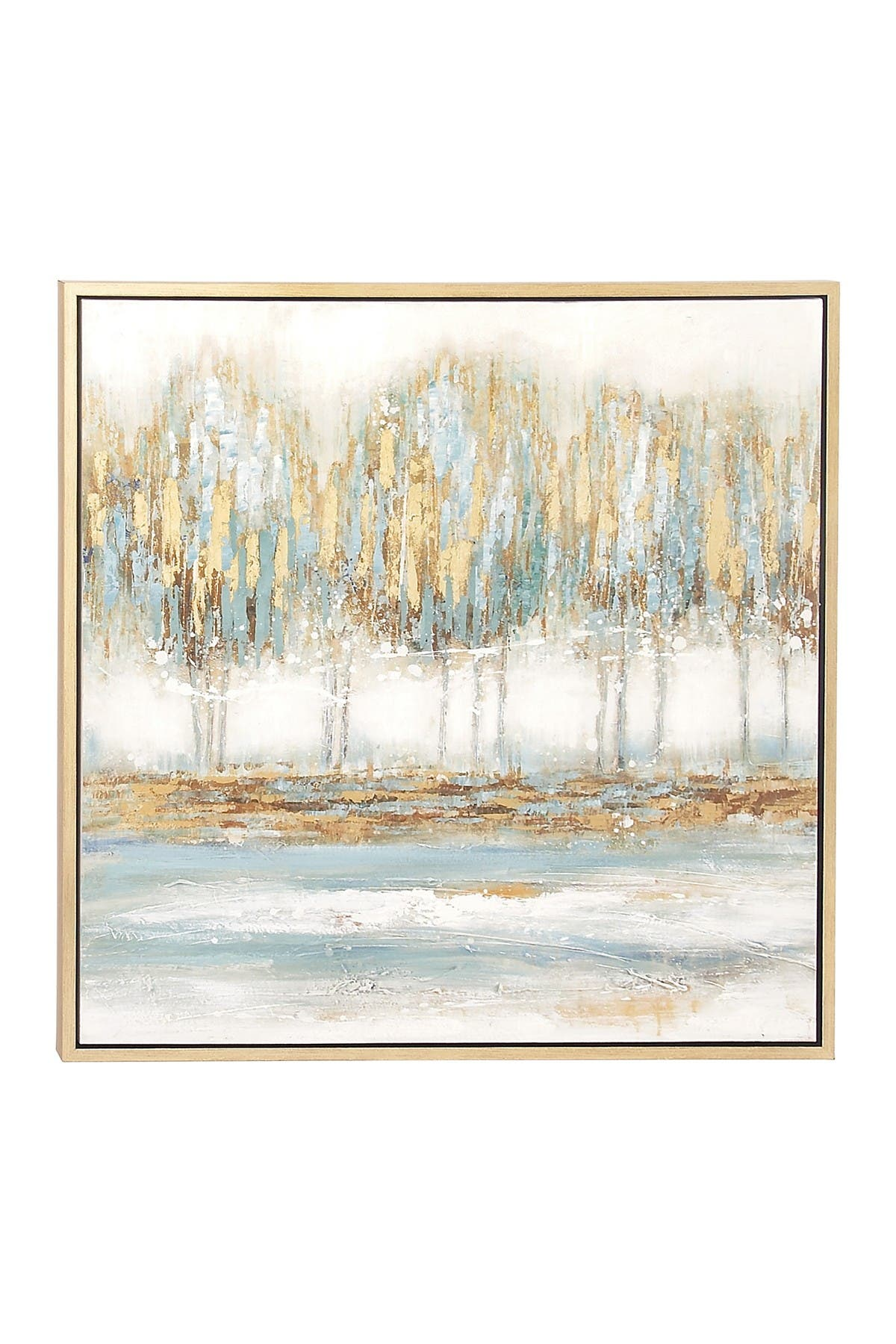Image of Willow Row Multi Modern Abstract Forest Canvas Wall Art