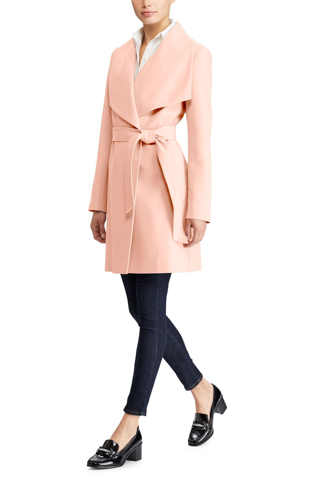 ,                             Belted Drape Front Coat,                             Alternate thumbnail 29, color,                             690