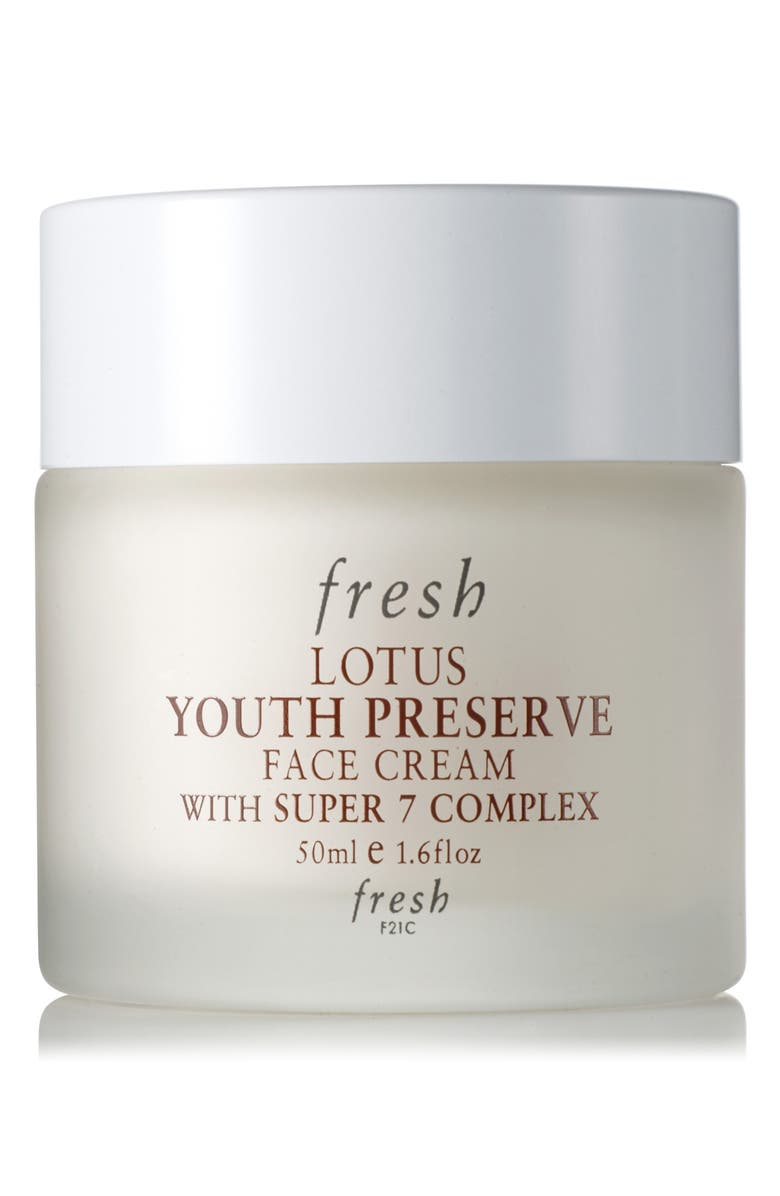 FRESH<SUP>®</SUP> Lotus Youth Preserve Face Cream, Main, color, NO COLOR