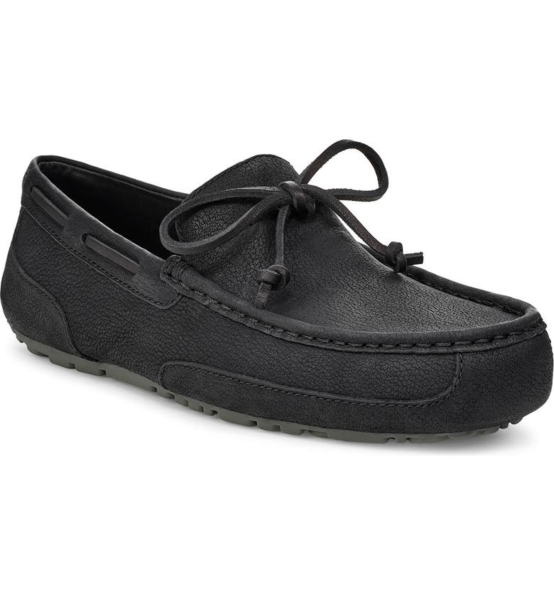 UGG<SUP>®</SUP> 'Chester' Twinsole<sup>®</sup> Driving Loafer, Main, color, BLACK/ BLACK