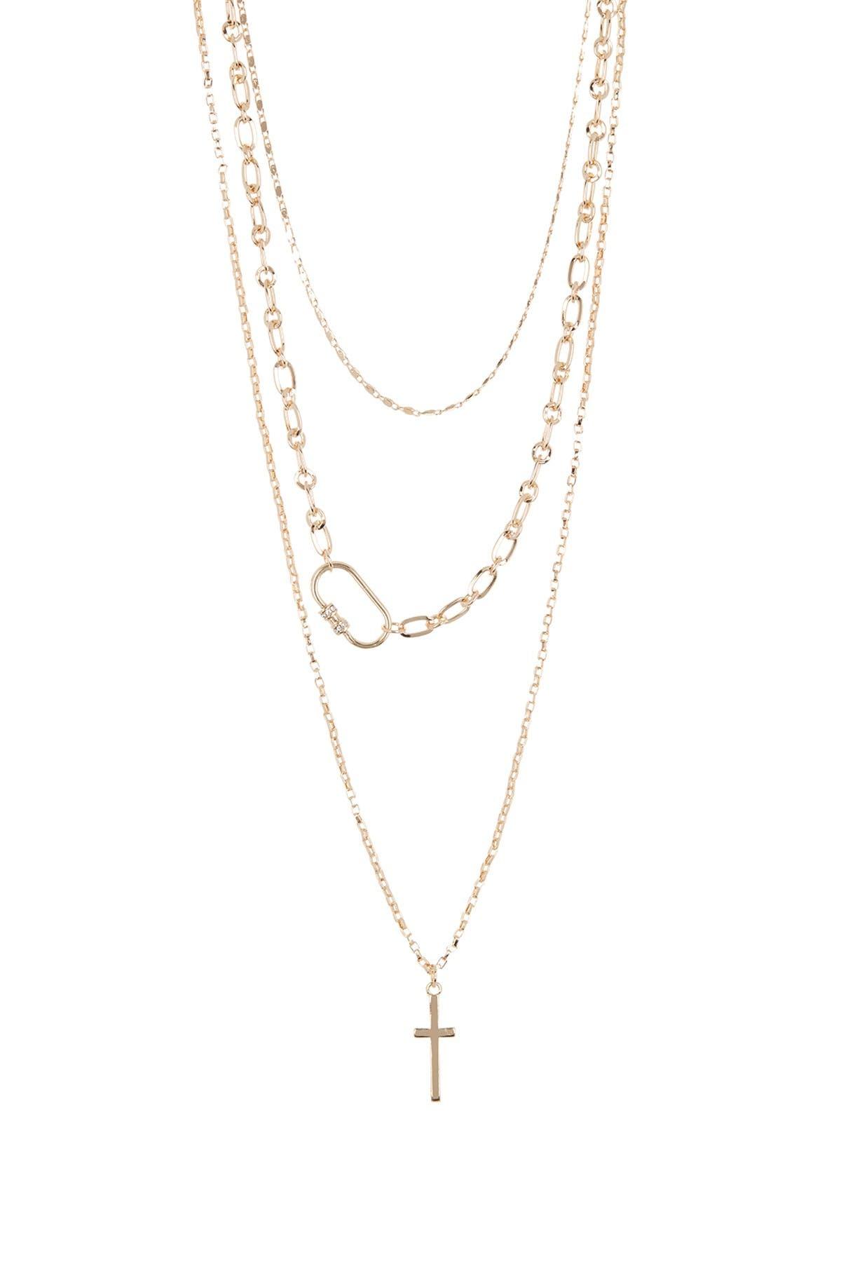 Image of AREA STARS Cris Necklace 3-Piece Set